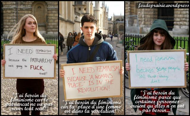 blog féminisme raisons
