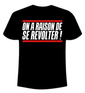 Tshirt révolte