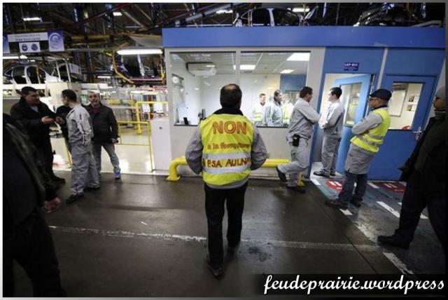 PSA usine greve