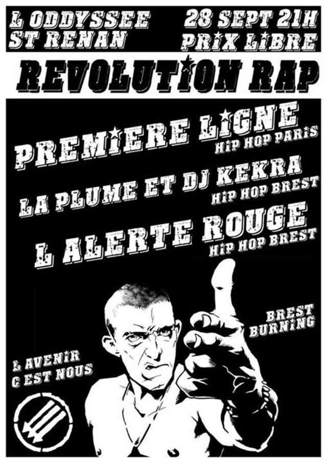 revolution rap Brest