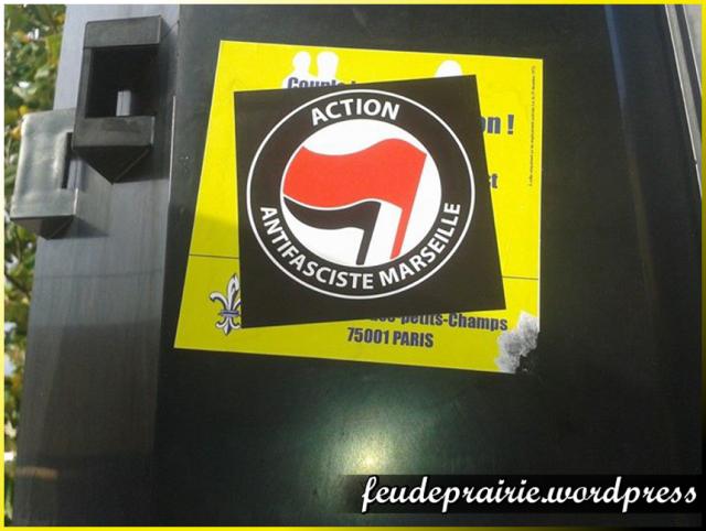 blog antifa Marseille contre AF