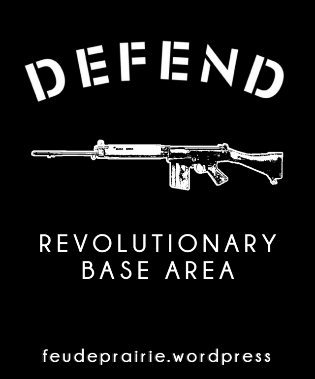defend revolutionary base area