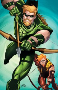Le comics Green Arrow/Red Arrow
